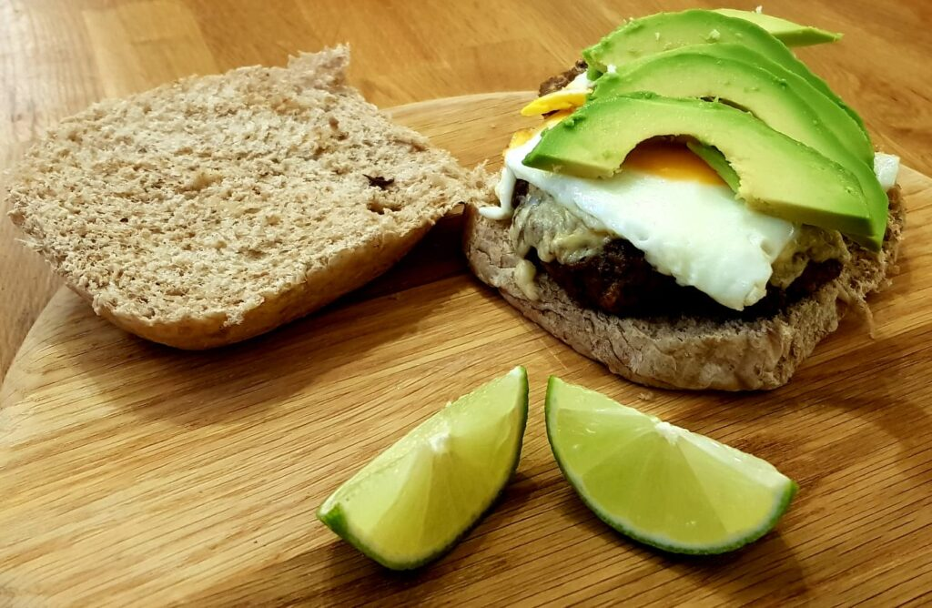 A Healthy Burger